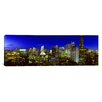 iCanvas Panoramic Evening Chicago, Illinois Photographic Print on Canvas