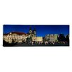 iCanvas Panoramic Prague Old Town Square, Prague, Czech Republic Photographic Print on Canvas