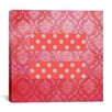 iCanvas Flags Equality Sign, Equal Rights Symbol Graphic Art on Canvas in Pink