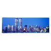 <strong>iCanvasArt</strong> Panoramic Evening, Lower Manhattan, New York City, New York State Photographic Print on Canvas