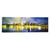 iCanvasArt Panoramic Evening, St. Louis, Missouri Photographic Print on Canvas