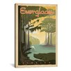 iCanvasArt Everglades National Park by Anderson Design Group Vintage Advertisement on Canvas