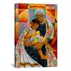 iCanvasArt 'In Grandmas Hands' by Keith Mallett Graphic Art on Canvas
