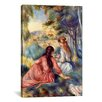 iCanvasArt 'In the Meadow' by Pierre-Auguste Renoir Painting Print on Canvas