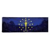 iCanvas Indiana Flag, County State Park Panoramic Graphic Art on Canvas