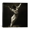 "iCanvasArt ""Fashion Model Underwater in Dolphin Tank, Marineland, Florida"" Canvas Wall Art by Toni Frissell"