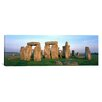 <strong>iCanvasArt</strong> Panoramic England, Wiltshire, Stonehenge Photographic Print on Canvas