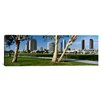 iCanvasArt Panoramic Embarcadero Marina Park, San Diego, California Photographic Print on Canvas