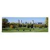 iCanvas Panoramic Golf with Denver, Denver, Colorado Photographic Print on Canvas