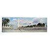 iCanvas Panoramic National World War II Memorial and the Washington Monument, Washington, D.C Photographic Print on Canvas
