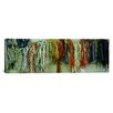 iCanvas Panoramic Colorful Braided Ropes for Sailing in a Store Photographic Print on Canvas