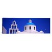 iCanvas Panoramic High Section View of a Church, Oia, Santorini, Greece Photographic Print on Canvas