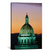 iCanvas Panoramic Colorado State Capitol Building Denver, Colorado Photographic Print on Canvas