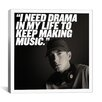 iCanvasArt Eminem Quote Canvas Wall Art