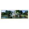 iCanvas Panoramic Fountain in a Garden, J C Nichols Memorial Fountain, Kansas City, Missouri Photographic Print on Canvas