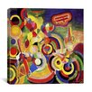 "<strong>""Homage to Bleriot"" Canvas Wall Art by Robert Delaunay</strong> by iCanvasArt"