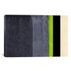 iCanvas 'Honeydew Slate Striped' Graphic Art on Canvas