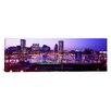 <strong>iCanvasArt</strong> Panoramic Inner Harbor, Baltimore, Maryland Photographic Print on Canvas