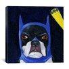 iCanvas 'Hat 15-2 Bat' by Brian Rubenacker Graphic Art on Canvas