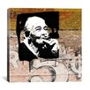 "iCanvasArt ""Havana Smoker"" by Luz Graphics Graphic Art on Canvas"