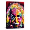 iCanvas 'Einstein II' by Dean Russo Graphic Art on Canvas