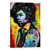 iCanvas 'Hendrix' by Dean Russo Painting Print on Canvas