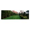 iCanvasArt Panoramic Ladew Topiary Gardens, Monkton, Maryland Photographic Print on Canvas
