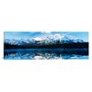iCanvas Panoramic Herbert Lake, Banff National Park, Alberta, Canada Photographic Print on Canvas