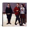 iCanvas 'Cousin Reginald Spells Peloponnesus' by Norman Rockwell Painting Print on Canvas