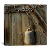 "<strong>iCanvasArt</strong> ""Cow Bell on a Link Chain"" Canvas Wall Art by Harold Silverman - Msc"