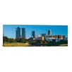 iCanvas Fort Worth Panoramic Skyline Cityscape Photographic Print on Canvas