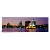 <strong>iCanvasArt</strong> Panoramic Lake Eola in Summerlin Park, Orlando, Florida Photographic Print on Canvas