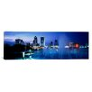 iCanvas Panoramic Fountain, Jacksonville, Florida Photographic Print on Canvas