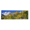 iCanvas Panoramic Maroon Bells, Aspen, Colorado Photographic Print on Canvas