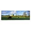 <strong>iCanvasArt</strong> Panoramic Helmsley Castle, Helmsley, North Yorkshire England Photographic Print on Canvas