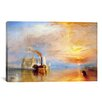 iCanvasArt 'Fighting Temeraire' by Joseph William Turner Painting Print on Canvas