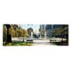 iCanvas Panoramic Swann Memorial Fountain in Logan Circle, Philadelphia, Pennsylvania Photographic Print on Canvas
