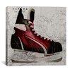iCanvasArt Canada Hockey Ice Skates #4 Graphic Art on Canvas