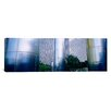 iCanvas Panoramic Columns of a Building, Downtown District, Houston, Texas Photographic Print on Canvas
