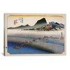 iCanvas Ando Hiroshige 'Kanaya (Takaido)' by Utagawa Hiroshige l Graphic Art on Canvas