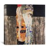 "iCanvasArt ""Die Drei Lebensalter Der Frau (The Three Ages)"" Canvas Wall Art by Gustav Klimt"