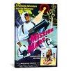 iCanvasArt Mission Mars Vintage Movie Poster Canvas Print Wall Art