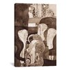 iCanvas 'Jurisprudenz' by Gustav Klimt Painting Print on Canvas