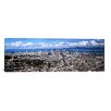 iCanvas Panoramic Cityscape Viewed from the Twin Peaks, San Francisco, California Photographic Print on Canvas