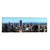 iCanvas Panoramic 'Portland with Mt St. Helens and Mt Adams, 2010, Oregon' Photographic Print on Canvas