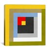 iCanvasArt Modern Color Stacks lll Graphic Art on Canvas