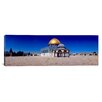 <strong>iCanvasArt</strong> Panoramic Dome of the Rock Temple Mount, Jerusalem, Israel Photographic Print on Canvas