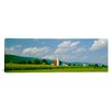 iCanvas Panoramic Kishacoquillas Valley Pennsylvania Photographic Print on Canvas