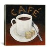 "iCanvasArt ""Cup of Coffee"" Canvas Wall Art by Pablo Esteban"