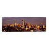 iCanvasArt Panoramic 'City Viewed from Queen Anne Hill, Space Needle, Seattle, King County, Washington State' Photographic Print on Canvas